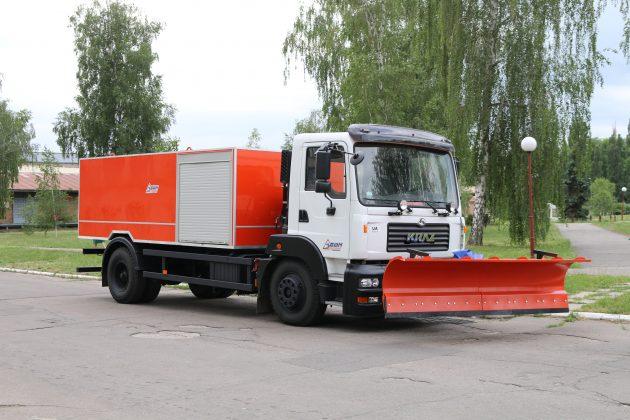 КрАЗ построил новый многофункциональный спецавтомобиль 1