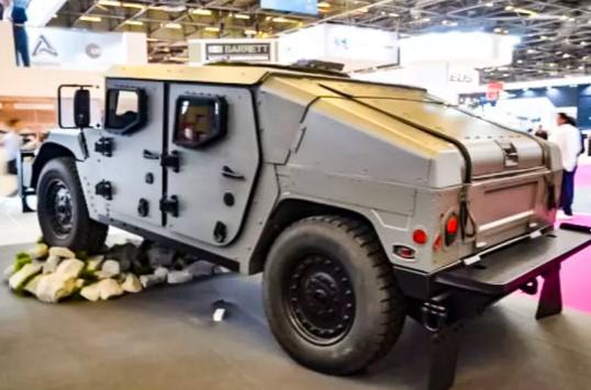 Американцы рассекретили новую боевую машину Humvee 2