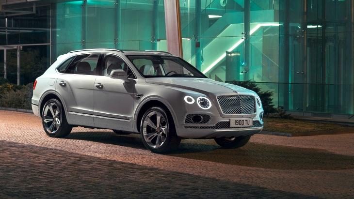 «Заряженный» кроссовер Bentley Bentayga получит новый облик 1