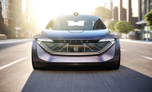 Бренд Byton презентовал конкурента Tesla Model 3 1
