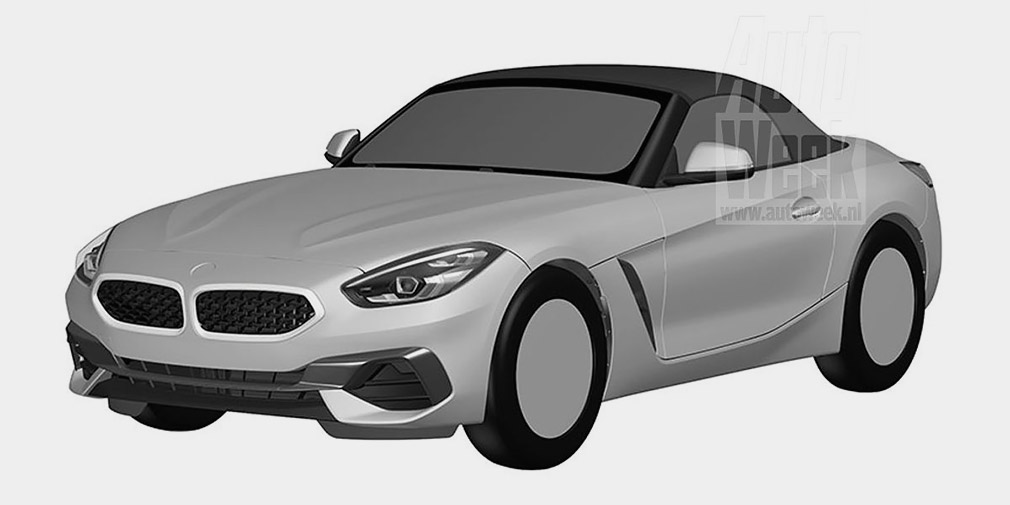 Дизайн BMW Z4 рассекретили до премьеры 1
