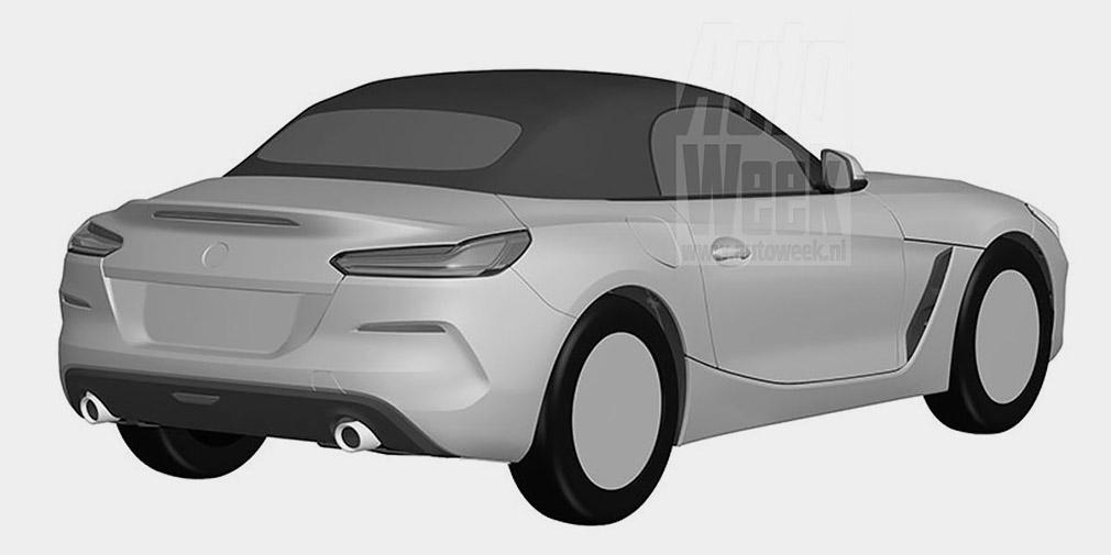 Дизайн BMW Z4 рассекретили до премьеры 2