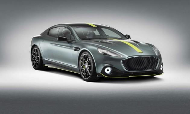 Мощность серийного Aston Martin Rapide AMR составила 603 лошадиные силы 1