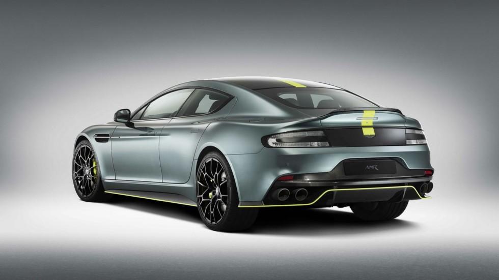 Мощность серийного Aston Martin Rapide AMR составила 603 лошадиные силы 2