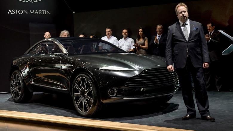 Aston Martin занялся производством кроссовера исключительно из-за Китая 1