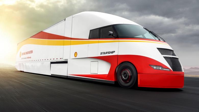 Компания Shell испытывает аэродинамический грузовик 2