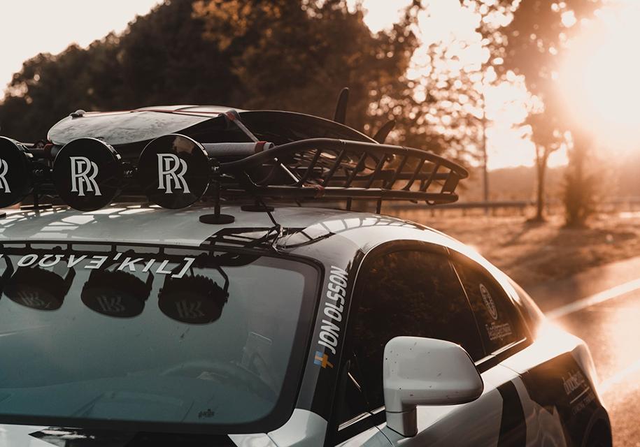 812-сильный Rolls-Royce Wraith для бернаута выставили на торги 2