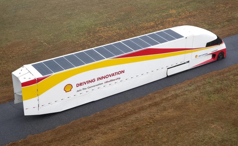 Компания Shell испытывает аэродинамический грузовик 4