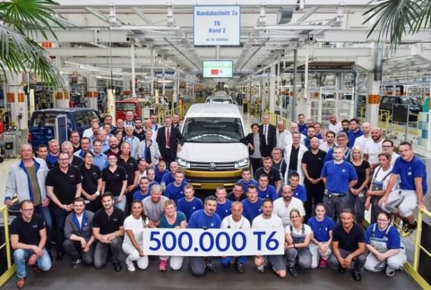 В свет вышел уникальный Volkswagen Transporter Т6 1