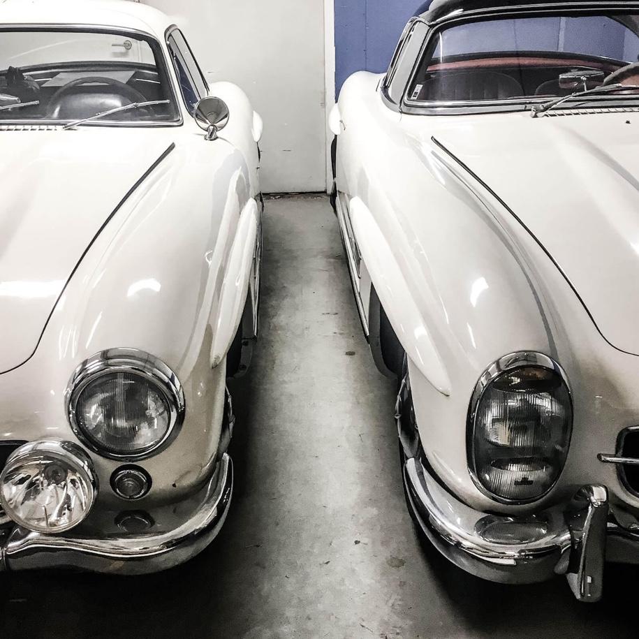 Два Mercedes-Benz 300 SL, простоявших в гараже 50 лет, продадут на аукционе 2