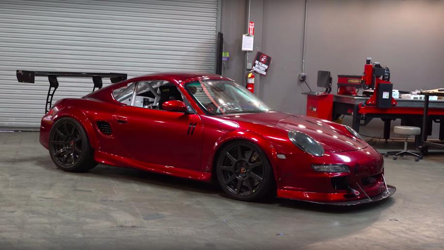 Американцы построили одноместный Porsche Boxster 1