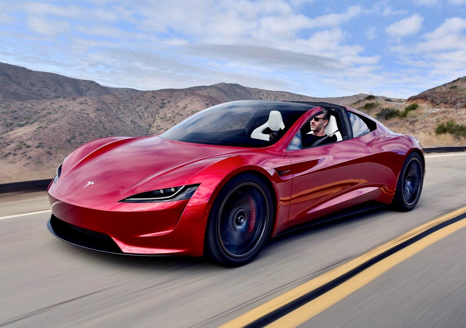 Tesla Roadster получит очень мощную версию 2