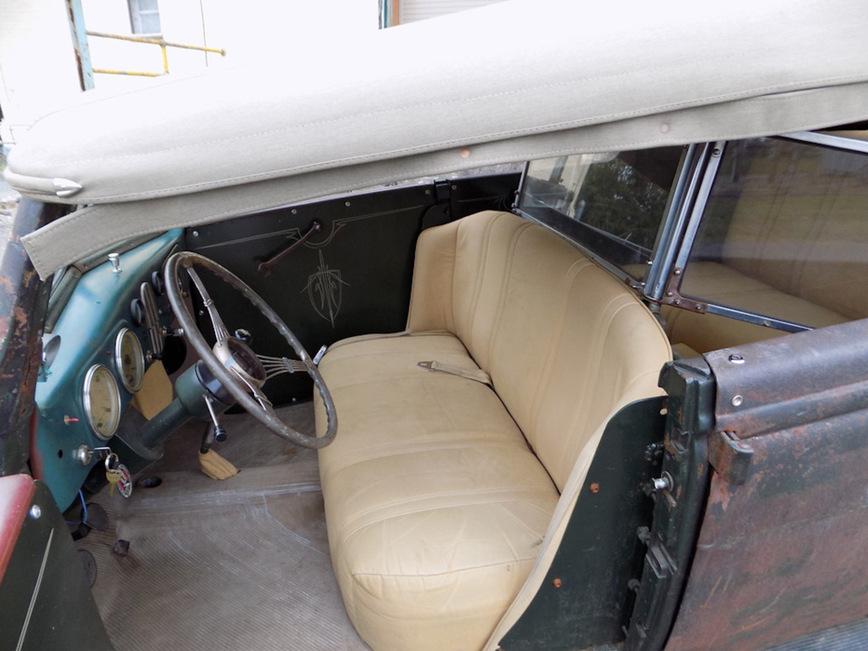 Ford Phaeton 1937 года получил вторую жизнь 3