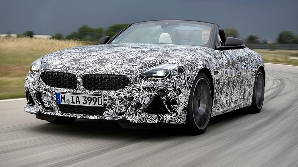 Когда BMW начнет выпуск нового Z4 1