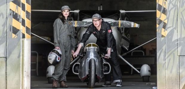 Вдохновленный самолетом: в Германии построили необычный мотобайк 2
