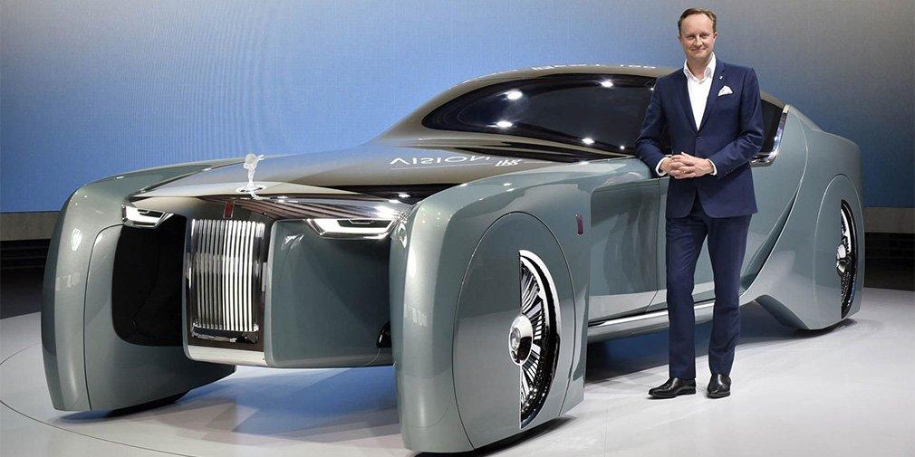 Главный дизайнер Rolls-Royce покинул свой пост 1