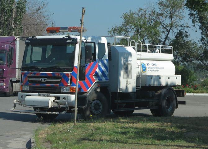 В Украине появился очень редкий грузовик Daewoo 1