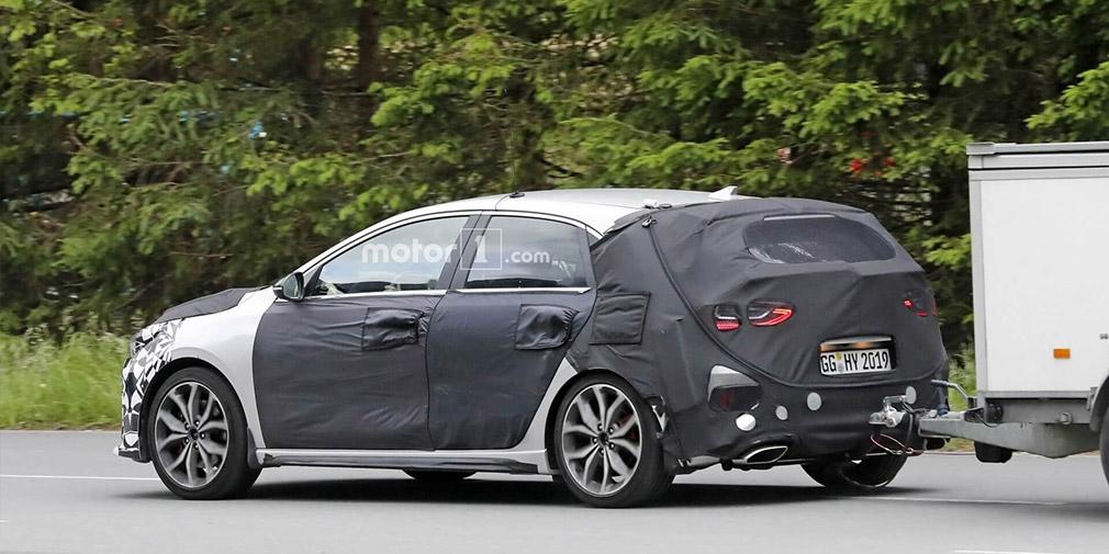 Спортивная модификация Kia Ceed замечена во время испытаний 1