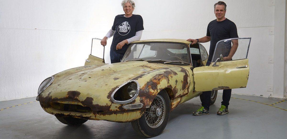 Легендарный Jaguar реставрируют в интернет-шоу 1