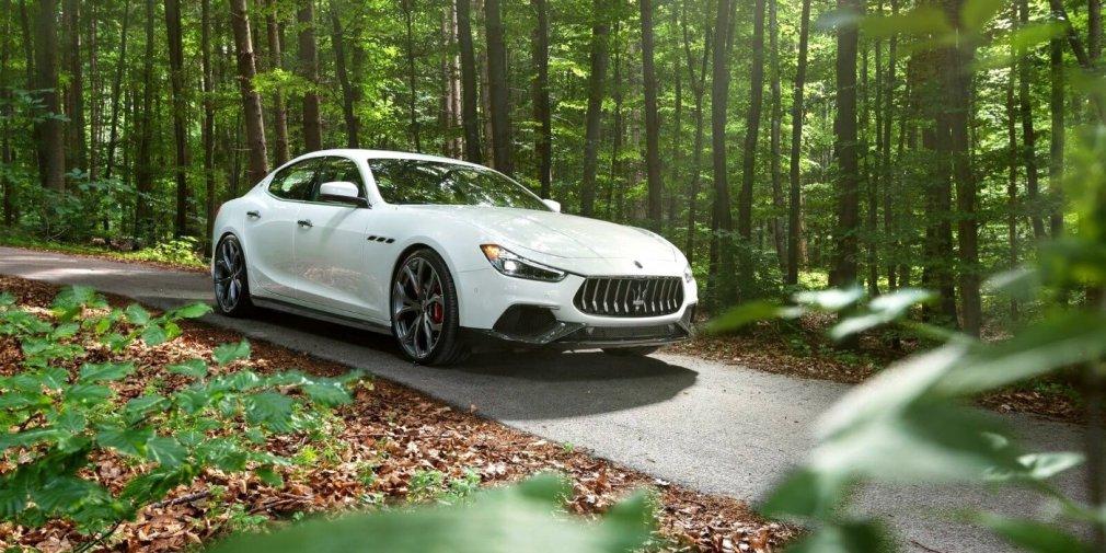 Тюнеры сделали седан Maserati Ghibli еще мощнее и быстрее 1