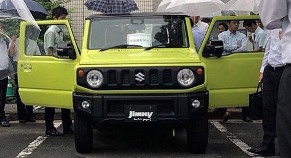 «Живые» изображения нового Suzuki Jimny «утекли» в Сеть 1