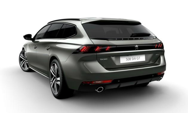 Peugeot 508 «превратился» в универсал 2