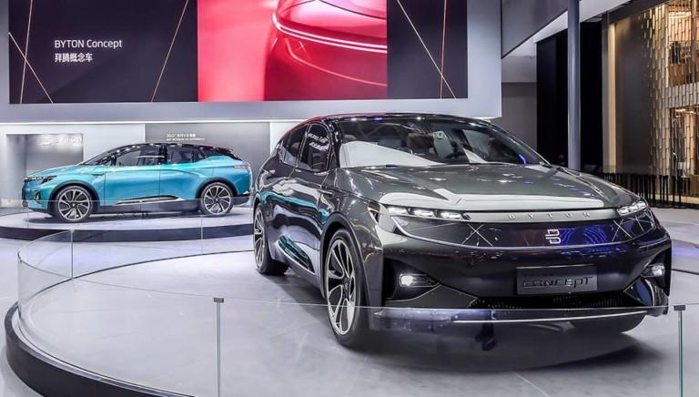 Компания Byton готовит конкурентов Mercedes-Benz EQ и Tesla 1