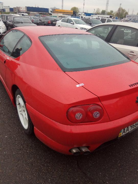 Конфискованный за долги Ferrari выставили на аукцион 2