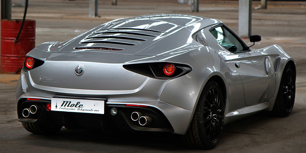 Итальянское ателье построило собственную версию новой Alfa Romeo 4C 3