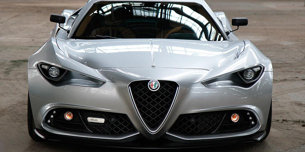 Итальянское ателье построило собственную версию новой Alfa Romeo 4C 2