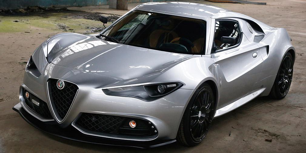 Итальянское ателье построило собственную версию новой Alfa Romeo 4C 1