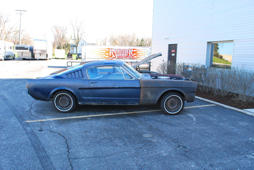 Из Ford Mustang 1965 года сделали современное купе Vapor 5