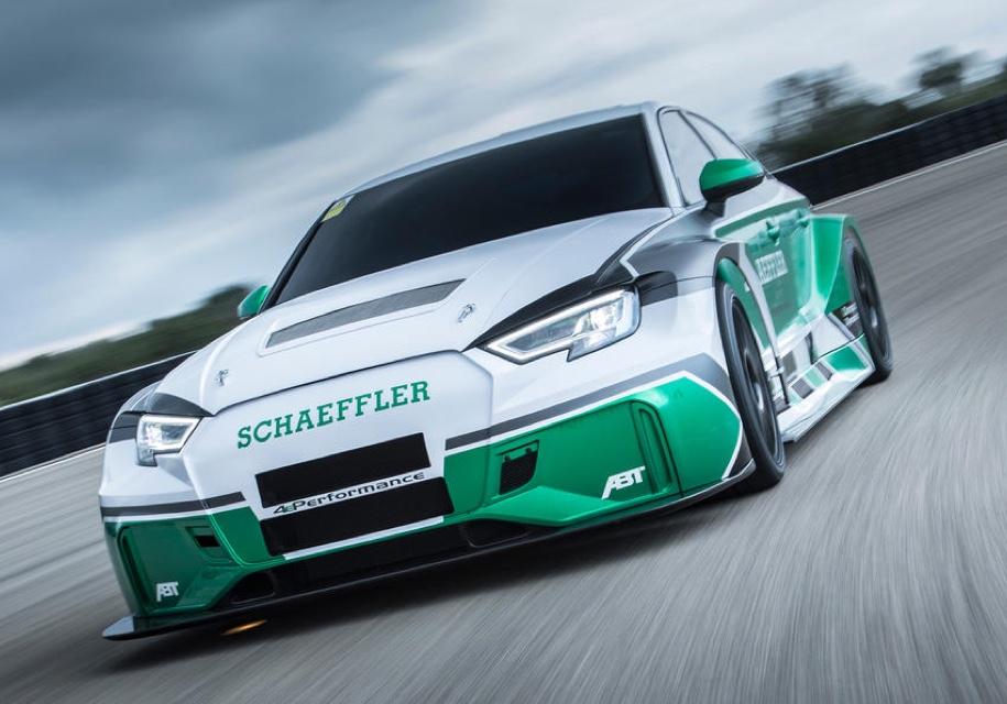 Из Audi RS3 сделали 1200-сильный электрический суперкар 1