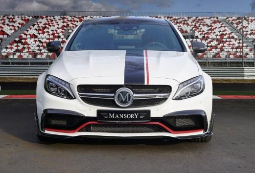 Ателье Mansory представило 650-сильный Mercedes-AMG C 63 1
