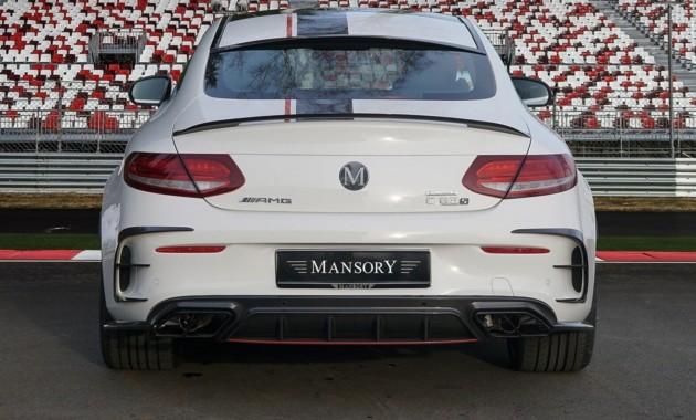 Ателье Mansory представило 650-сильный Mercedes-AMG C 63 3