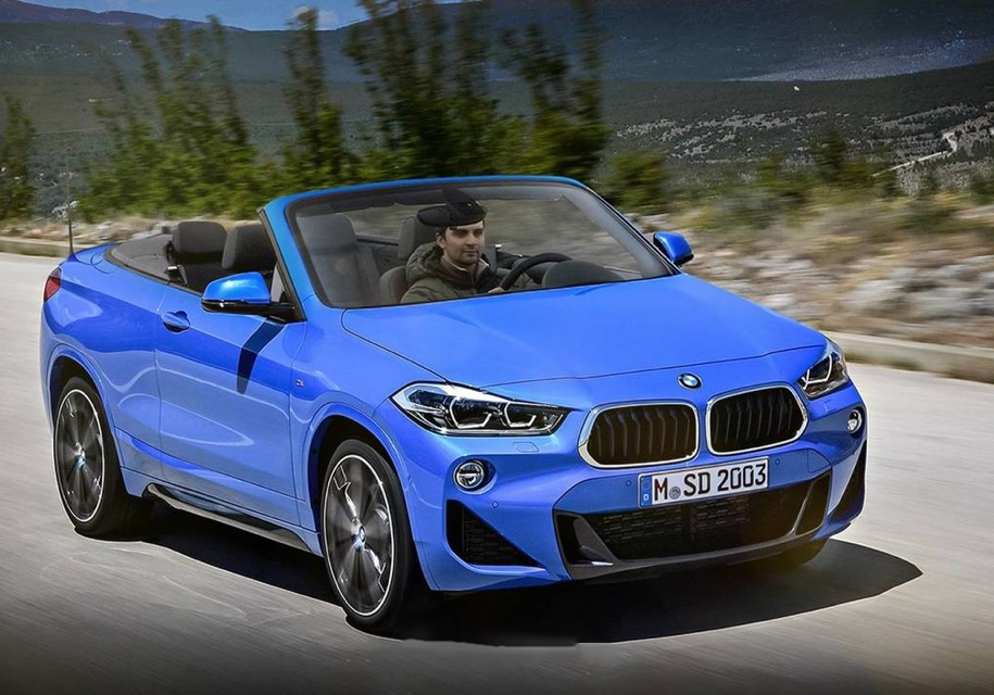 BMW выпустит кросс-кабриолет 1
