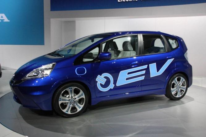 Электромобиль Honda Jazz получит новую жизнь 1