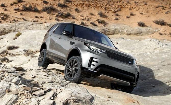 Land Rover разрабатывает беспилотник для бездорожья 1