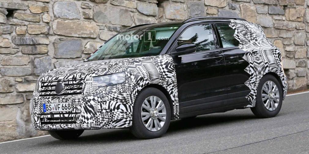 Volkswagen готовит к премьере новый компактный кроссовер 1