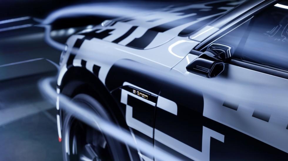 У серийного кроссовера Audi e-tron не будет боковых зеркал 2