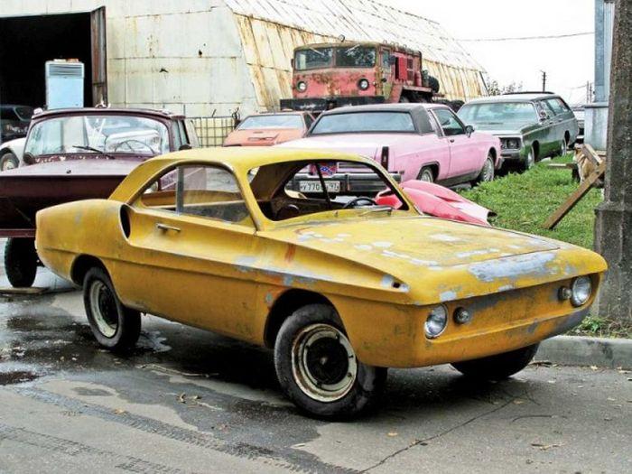 Каким был концепт спорткара на базе «Запорожца» 1