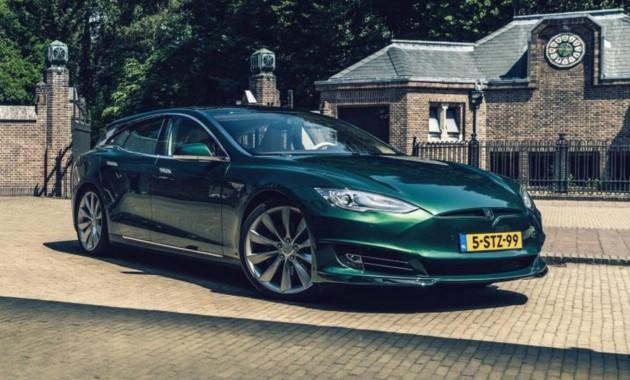 Из Tesla Model S сделали крутой универсал 1