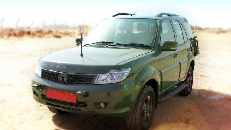 Tata разработала внедорожники для индийской армии 1