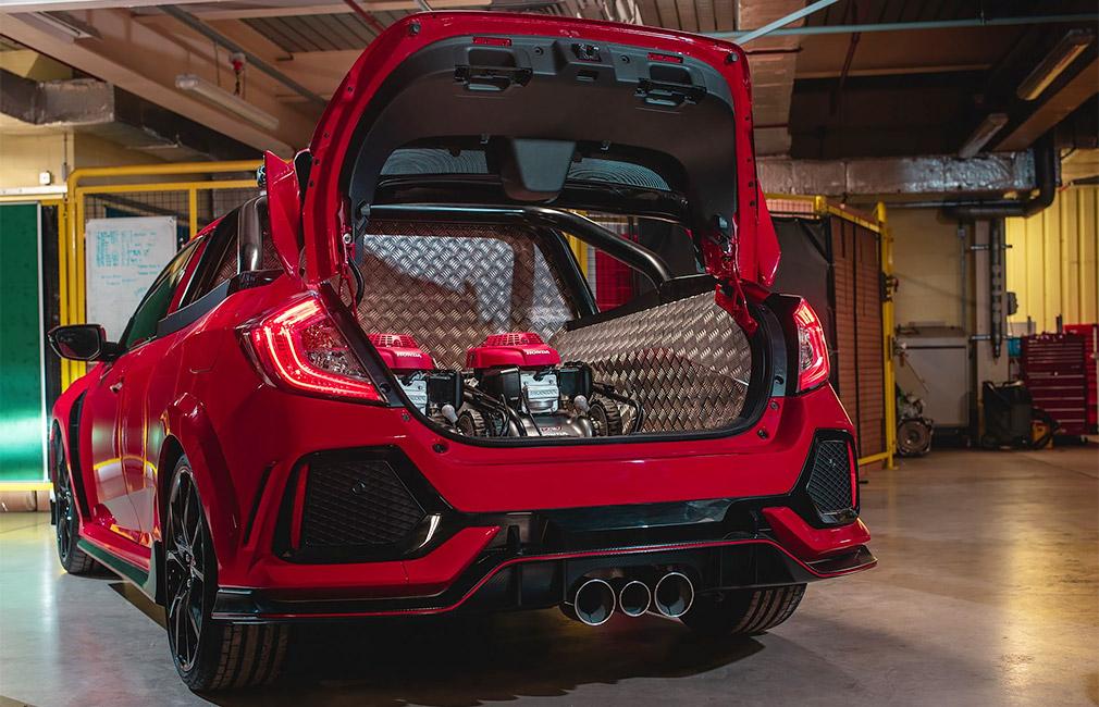 Из хот-хэтча Honda Civic Type R сделали пикап 3
