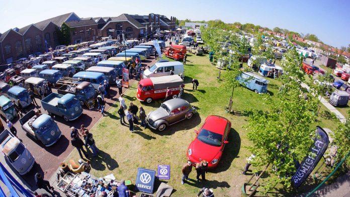 «Древнейшие» минивэны Volkswagen собрались в одном месте 1