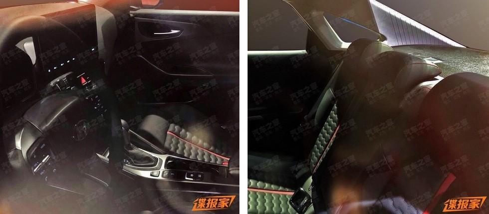 Фотошпионы рассекретили интерьер нового седана LaFesta 2