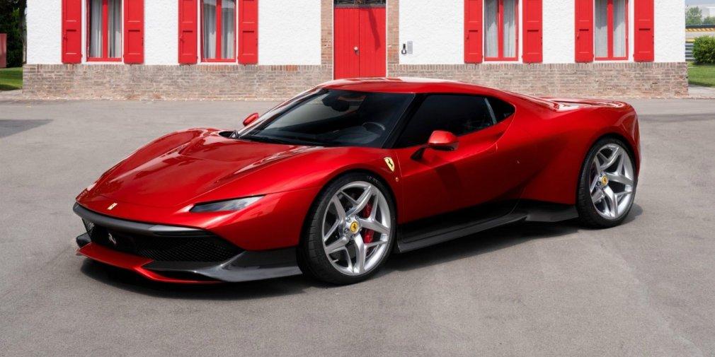 Ferrari показала уникальный суперкар 1