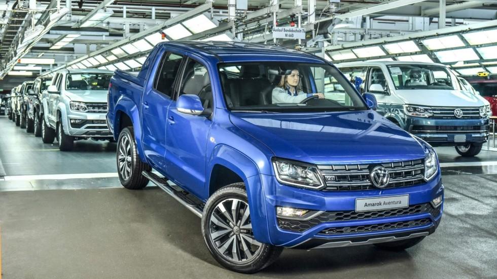 Самый мощный вариант пикапа Volkswagen Amarok встал на конвейер 1