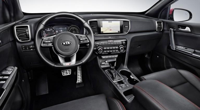 Новый Sportage стал первым «мягким» гибридом марки Kia 1