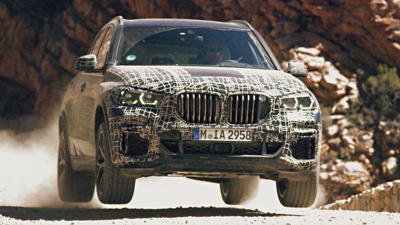 BMW показала официальные изображения нового X5 2